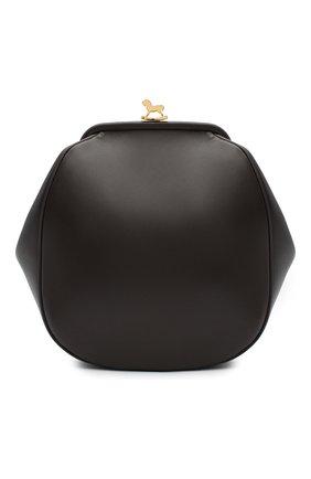 Женский рюкзак ULYANA SERGEENKO коричневого цвета, арт. BRS042CLASSX(0500с) | Фото 1