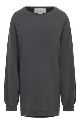 Женская хлопковый свитшот RUBAN серого цвета, арт. RPFW20/21-15.1.61.4 | Фото 1