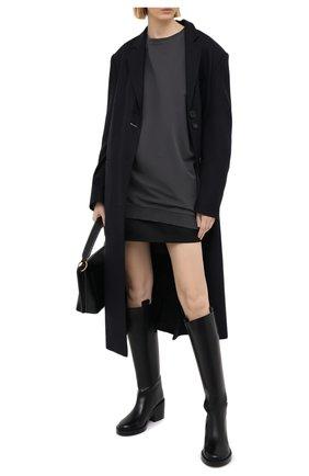 Женская хлопковый свитшот RUBAN серого цвета, арт. RPFW20/21-15.1.61.4 | Фото 2