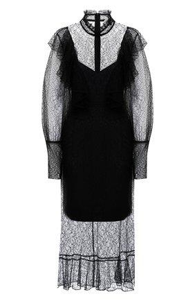 Женское платье MASTERPEACE черного цвета, арт. MP-NG-21-06 | Фото 1