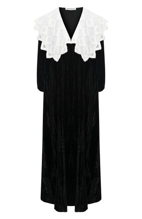 Женское платье из вискозы MASTERPEACE черного цвета, арт. MP-NG-21-01 | Фото 1
