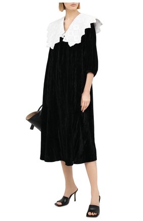 Женское платье из вискозы MASTERPEACE черного цвета, арт. MP-NG-21-01 | Фото 2