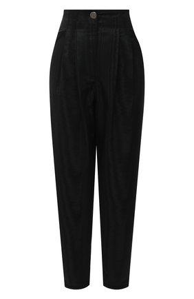 Женские брюки GIORGIO ARMANI черного цвета, арт. 0WHPP0E2/T01V4 | Фото 1