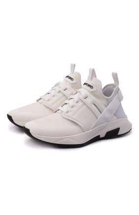 Женские комбинированные кроссовки jago TOM FORD белого цвета, арт. W2818N-T0F004 | Фото 1