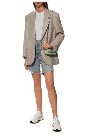 Женские комбинированные кроссовки jago TOM FORD белого цвета, арт. W2818N-T0F004 | Фото 2