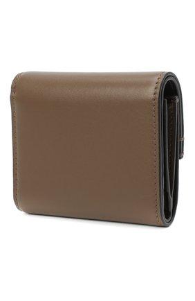 Женские кожаный портмоне RALPH LAUREN коричневого цвета, арт. 434817242 | Фото 2