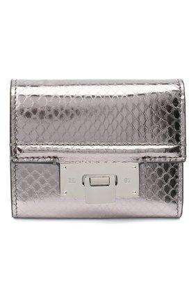Женские кожаный портмоне RALPH LAUREN серебряного цвета, арт. 434817238 | Фото 1