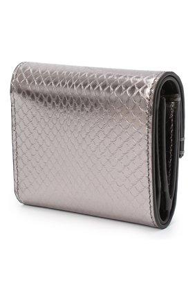 Женские кожаный портмоне RALPH LAUREN серебряного цвета, арт. 434817238 | Фото 2