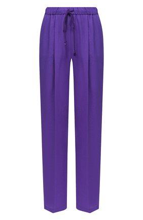 Женские брюки FORTE_FORTE фиолетового цвета, арт. 7730 | Фото 1