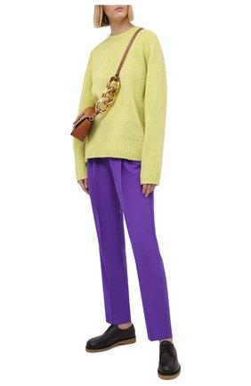Женские брюки FORTE_FORTE фиолетового цвета, арт. 7730 | Фото 2