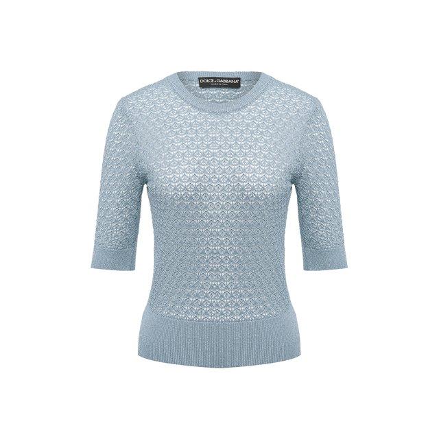 Пуловер из вискозы Dolce & Gabbana