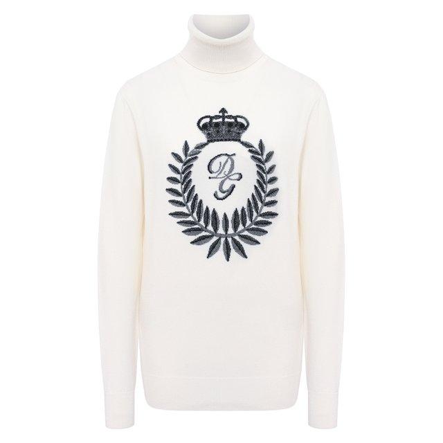 Водолазка из кашемира и вискозы Dolce & Gabbana