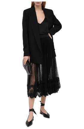 Женская юбка DOLCE & GABBANA черного цвета, арт. F4BZ7T/FLMJW | Фото 2