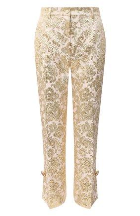 Женские брюки DOLCE & GABBANA розового цвета, арт. FTBT6Z/HJMLB | Фото 1