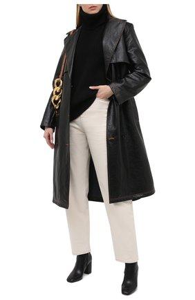Женские кожаные ботильоны marcella MICHAEL MICHAEL KORS черного цвета, арт. 40F0MRHE5L   Фото 2