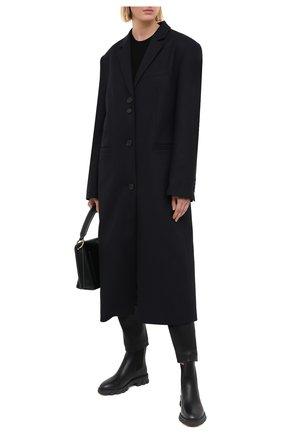 Женские кожаные ботинки ridley MICHAEL MICHAEL KORS черного цвета, арт. 40F0RIFE7L | Фото 2