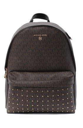 Женский рюкзак slater MICHAEL MICHAEL KORS коричневого цвета, арт. 30F0G04B2B | Фото 1