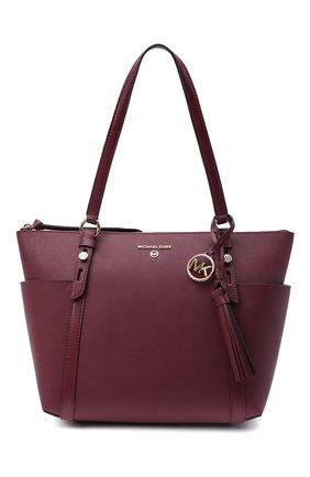 Женский сумка-шопер nomad MICHAEL MICHAEL KORS бордового цвета, арт. 30F0LNXT2L | Фото 1