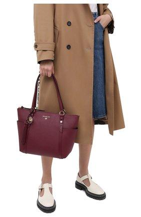 Женский сумка-шопер nomad MICHAEL MICHAEL KORS бордового цвета, арт. 30F0LNXT2L | Фото 2