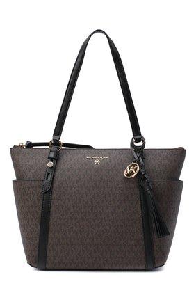Женский сумка-шопер nomad MICHAEL MICHAEL KORS коричневого цвета, арт. 30T0GNXT2B | Фото 1