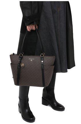 Женский сумка-шопер nomad MICHAEL MICHAEL KORS коричневого цвета, арт. 30T0GNXT2B | Фото 2