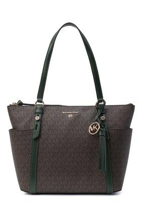 Женский сумка-шопер nomad MICHAEL MICHAEL KORS зеленого цвета, арт. 30T0GNXT2B | Фото 1