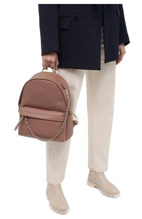 Женский рюкзак slater MICHAEL MICHAEL KORS розового цвета, арт. 30T0L04B1L | Фото 2