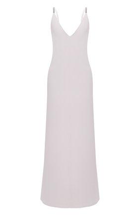 Женское платье BRUNELLO CUCINELLI светло-серого цвета, арт. MA029A4764 | Фото 1