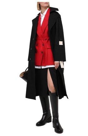 Женский льняной жилет BRUNELLO CUCINELLI красного цвета, арт. MH5062990 | Фото 2