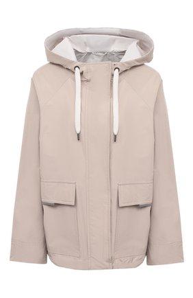 Женская куртка BRUNELLO CUCINELLI светло-бежевого цвета, арт. MB5742520   Фото 1