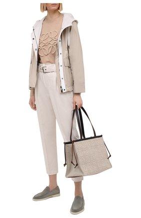 Женская куртка BRUNELLO CUCINELLI светло-бежевого цвета, арт. MB5742520   Фото 2