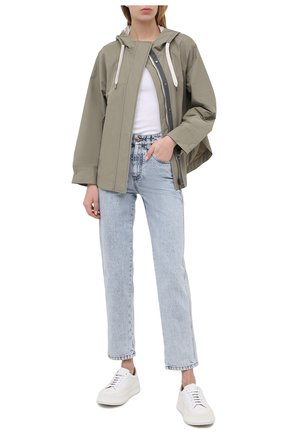 Женская куртка BRUNELLO CUCINELLI хаки цвета, арт. MB5748817 | Фото 2