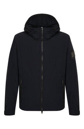 Мужская утепленная куртка BURBERRY синего цвета, арт. 8014364 | Фото 1