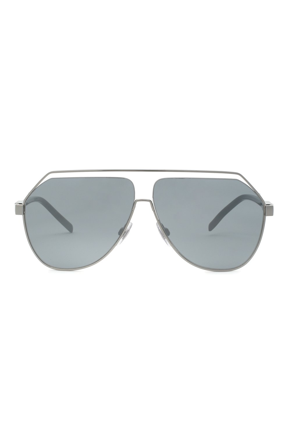 Мужские солнцезащитные очки DOLCE & GABBANA серебряного цвета, арт. 2266-04/6G | Фото 3