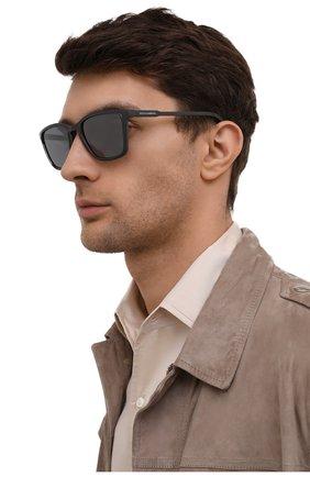 Мужские солнцезащитные очки DOLCE & GABBANA серого цвета, арт. 6145-32936G | Фото 2