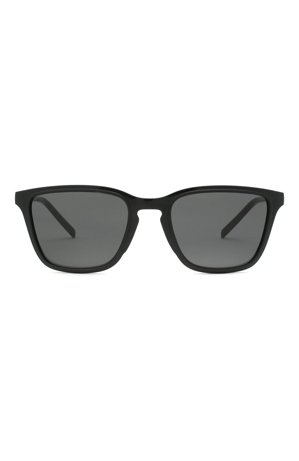 Мужские солнцезащитные очки DOLCE & GABBANA черного цвета, арт. 6145-501/87 | Фото 3