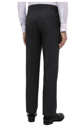 Мужской шерстяной костюм TOM FORD серого цвета, арт. Q11R01/21AL43 | Фото 5