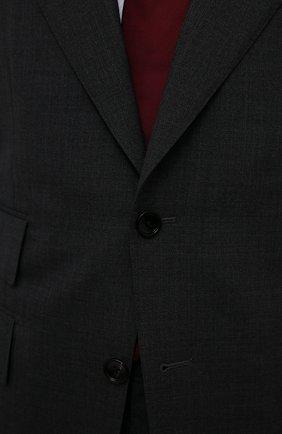 Мужской шерстяной костюм TOM FORD серого цвета, арт. Q11R01/21AL43 | Фото 6