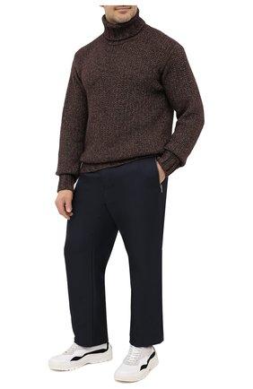 Мужской брюки ZILLI SPORT темно-синего цвета, арт. MBU-ZS812-PASE0/0001 | Фото 2