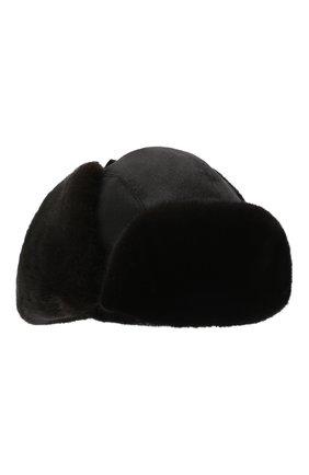 Мужская шапка-ушанка из меха норки ZILLI темно-синего цвета, арт. MHQ-0RS00-30337/1002 | Фото 1