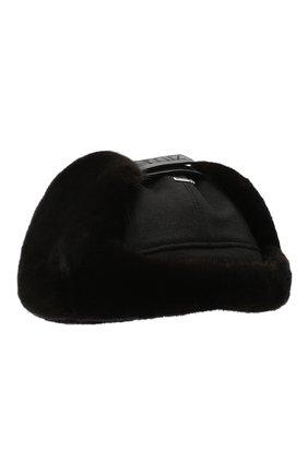 Мужская шапка-ушанка из меха норки ZILLI темно-синего цвета, арт. MHQ-0RS00-30337/1002 | Фото 2