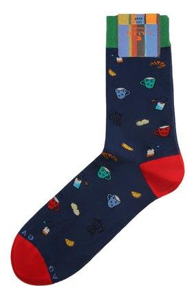 Мужские носки GALLO синего цвета, арт. AP510669 | Фото 1
