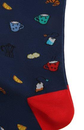Мужские носки GALLO синего цвета, арт. AP510669 | Фото 2