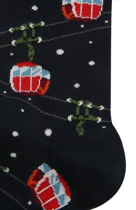 Мужские хлопковые носки GALLO темно-синего цвета, арт. AP510646 | Фото 2