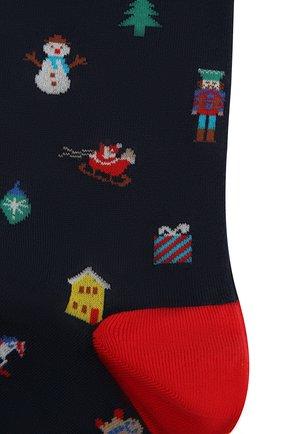 Мужские хлопковые носки GALLO темно-синего цвета, арт. AP510622 | Фото 2