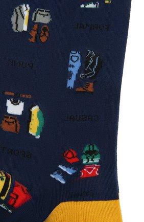 Мужские носки GALLO синего цвета, арт. AP510612 | Фото 2