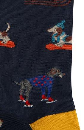 Мужские хлопковые носки GALLO темно-синего цвета, арт. AP510609 | Фото 2