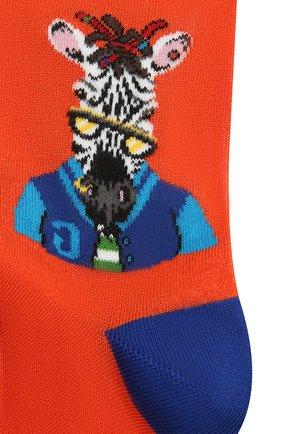 Мужские хлопковые носки GALLO оранжевого цвета, арт. AP510235 | Фото 2
