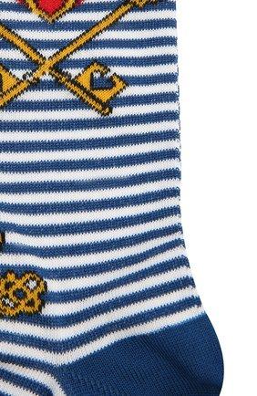 Мужские хлопковые носки GALLO синего цвета, арт. AP509823 | Фото 2