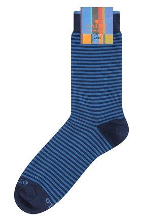 Мужские хлопковые носки GALLO темно-синего цвета, арт. AP103650 | Фото 1